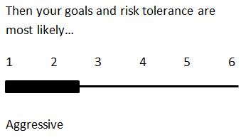 Aggressive Risk Tolerance: most likely prefer investment options 1 or 2