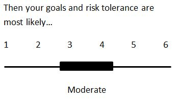 Moderate Risk Tolerance: most likely prefer investment options 3 or 4